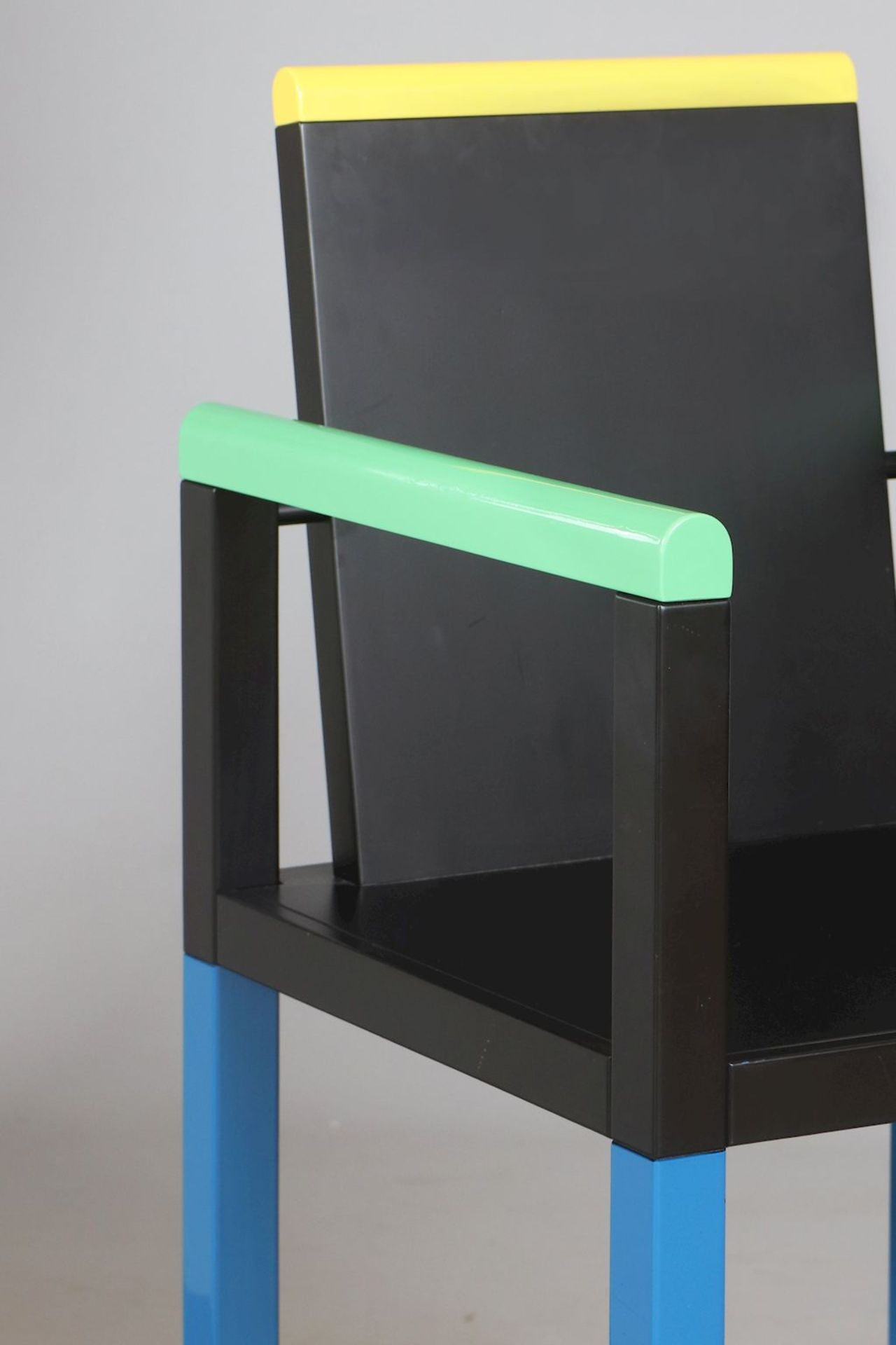GEORGE JAMES SOWDEN (1942) ¨Palace Chair¨ für MEMPHIS (Milano) - Image 4 of 5