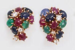 Paar Ohrstecker, Juwelier von Häfen
