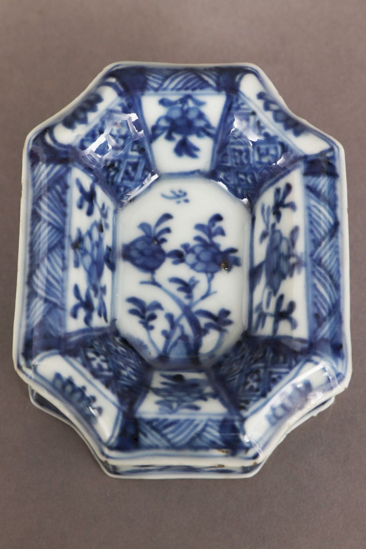 2 chinesische Porzellane mit Blaumalerei - Bild 7 aus 7