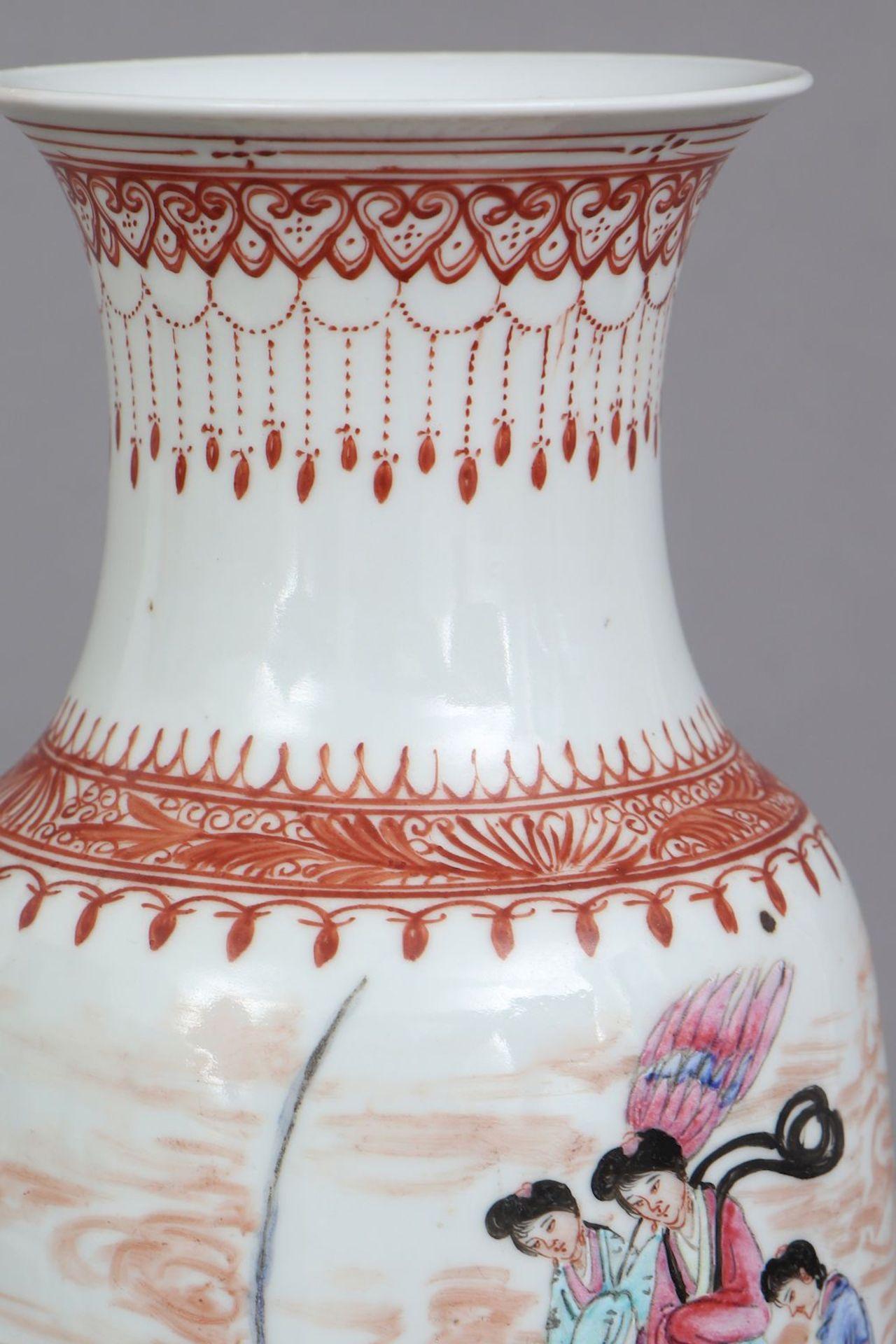 Chinesische Porzellanvase - Image 3 of 5