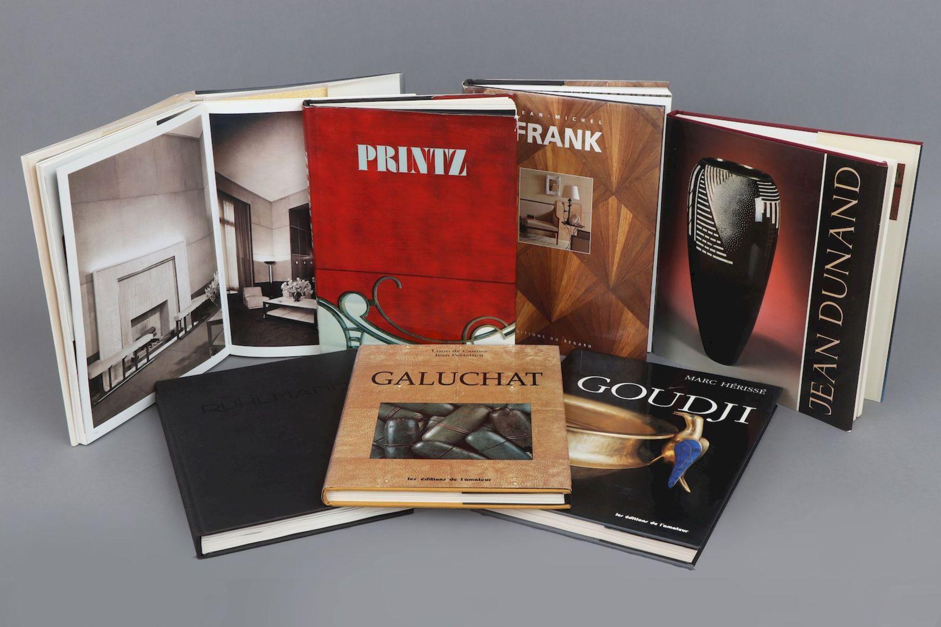 7 Kunstbücher zum Thema ¨Französische Designer des 20. Jahrhunderts¨ - Image 2 of 2