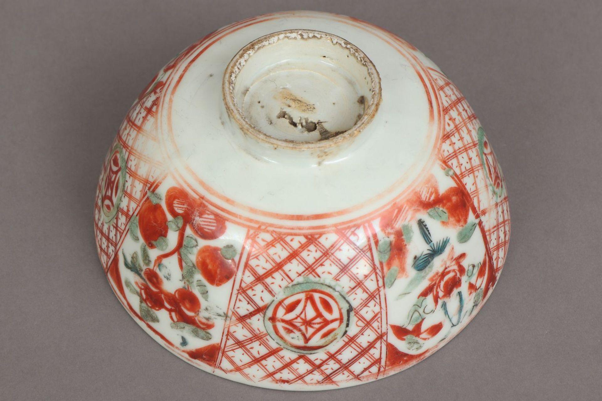 Chinesische Porzellanschale mit Pfirsichdekor - Image 4 of 5