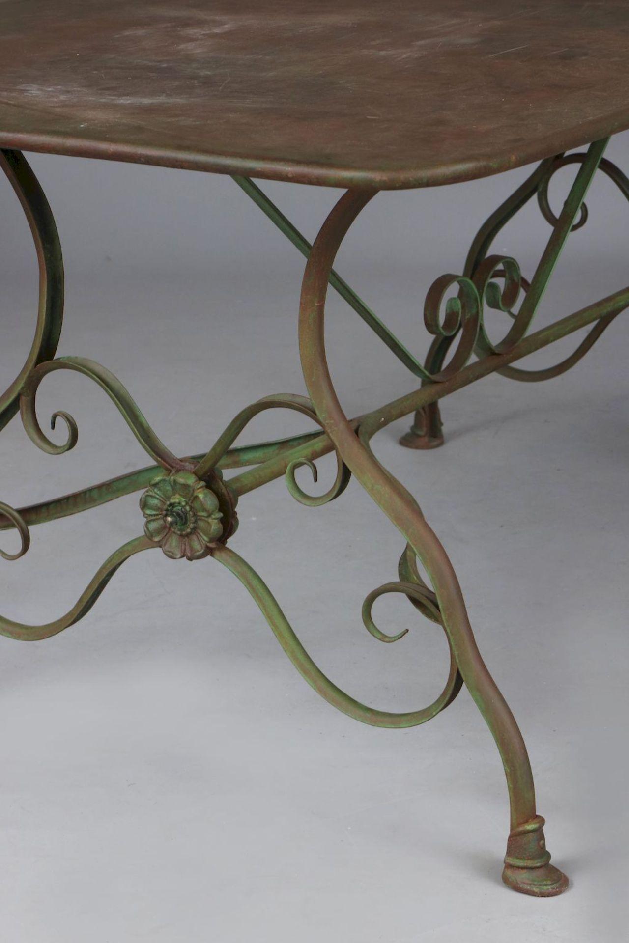 Französischer Gartentisch - Image 2 of 5