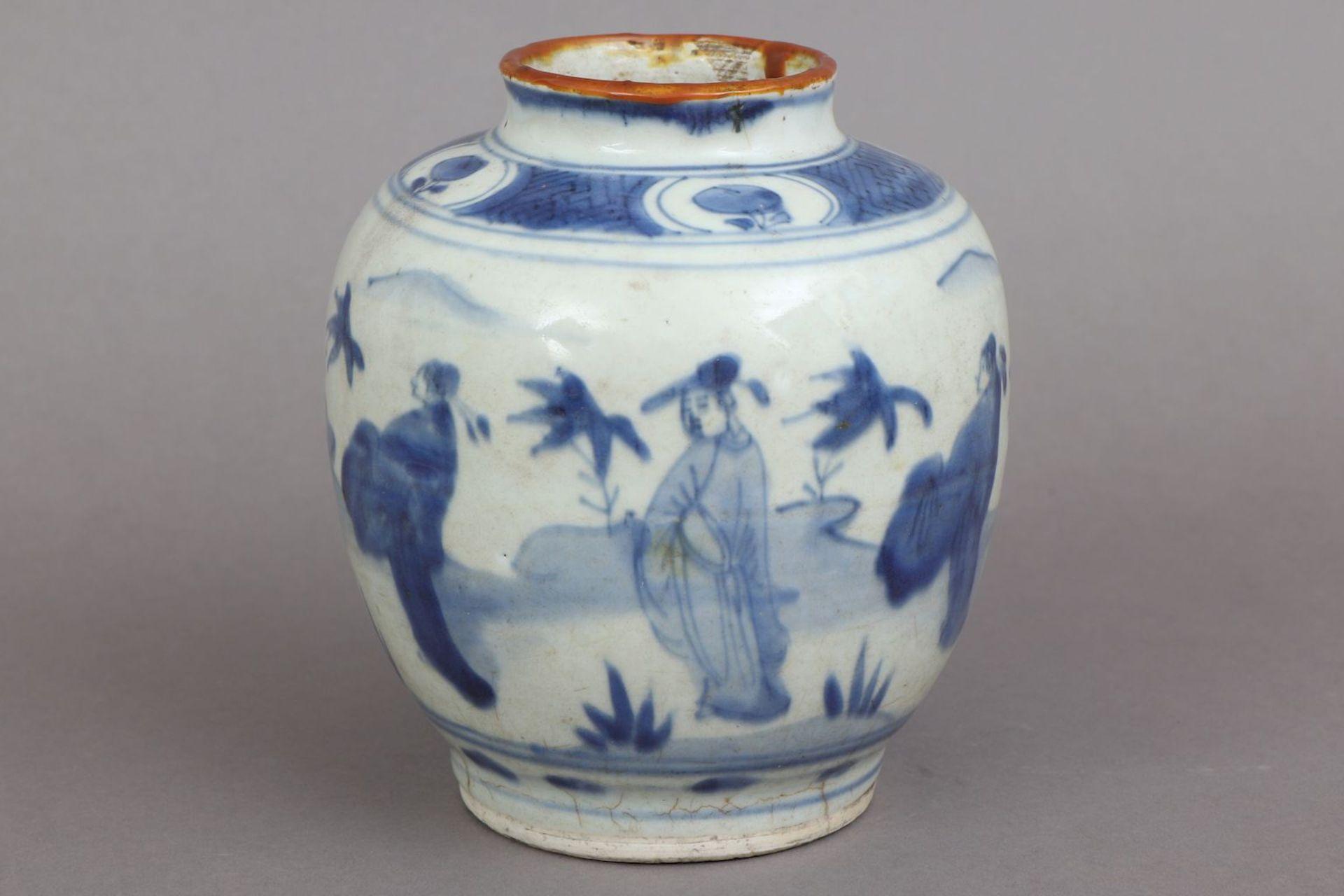Chinesisches Vorratsgefäß/Ingwertopf der Ming Dynastie (1368-1644) - Image 2 of 5