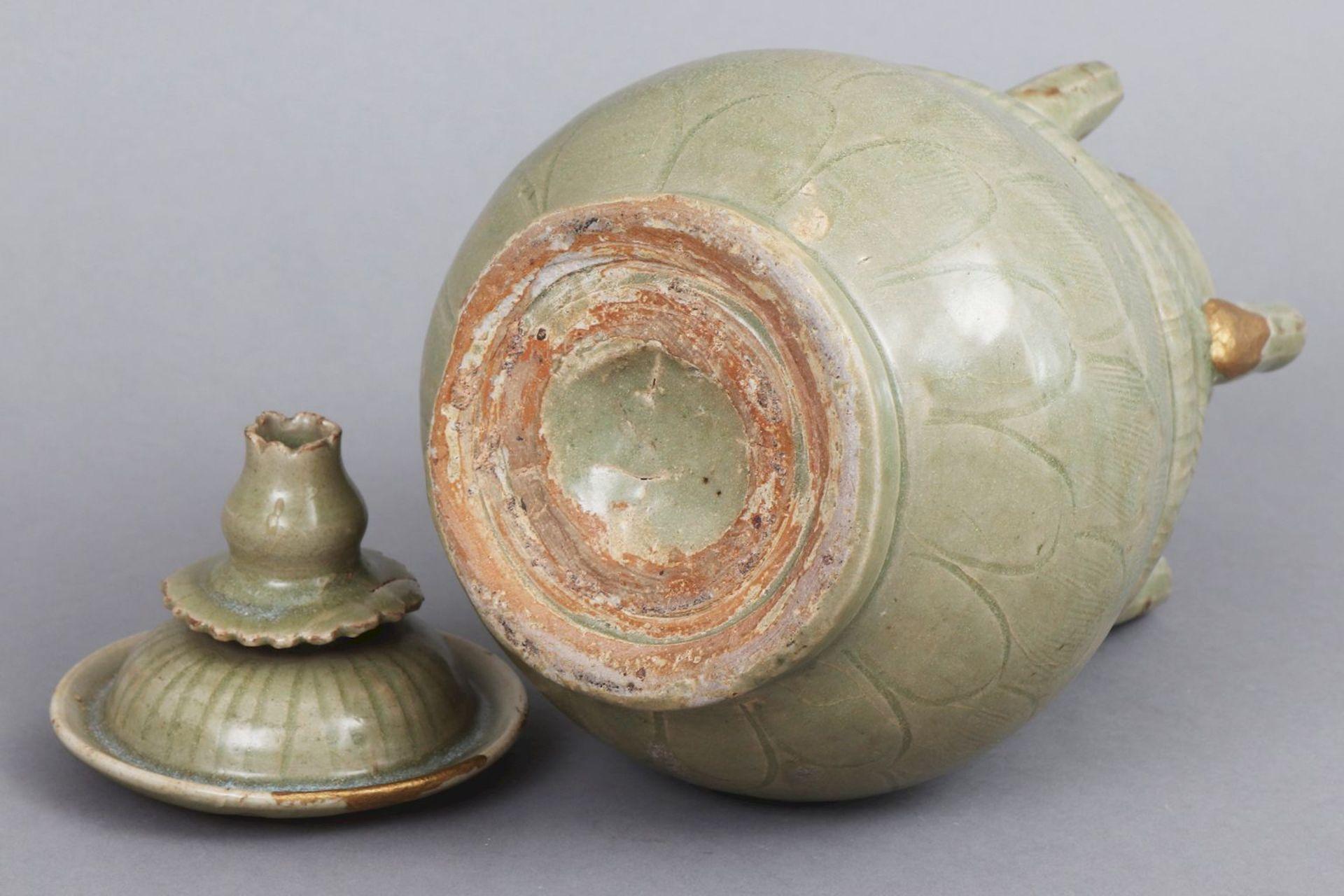 Deckelgefäß im Stile der Song Dynastie - Bild 4 aus 5