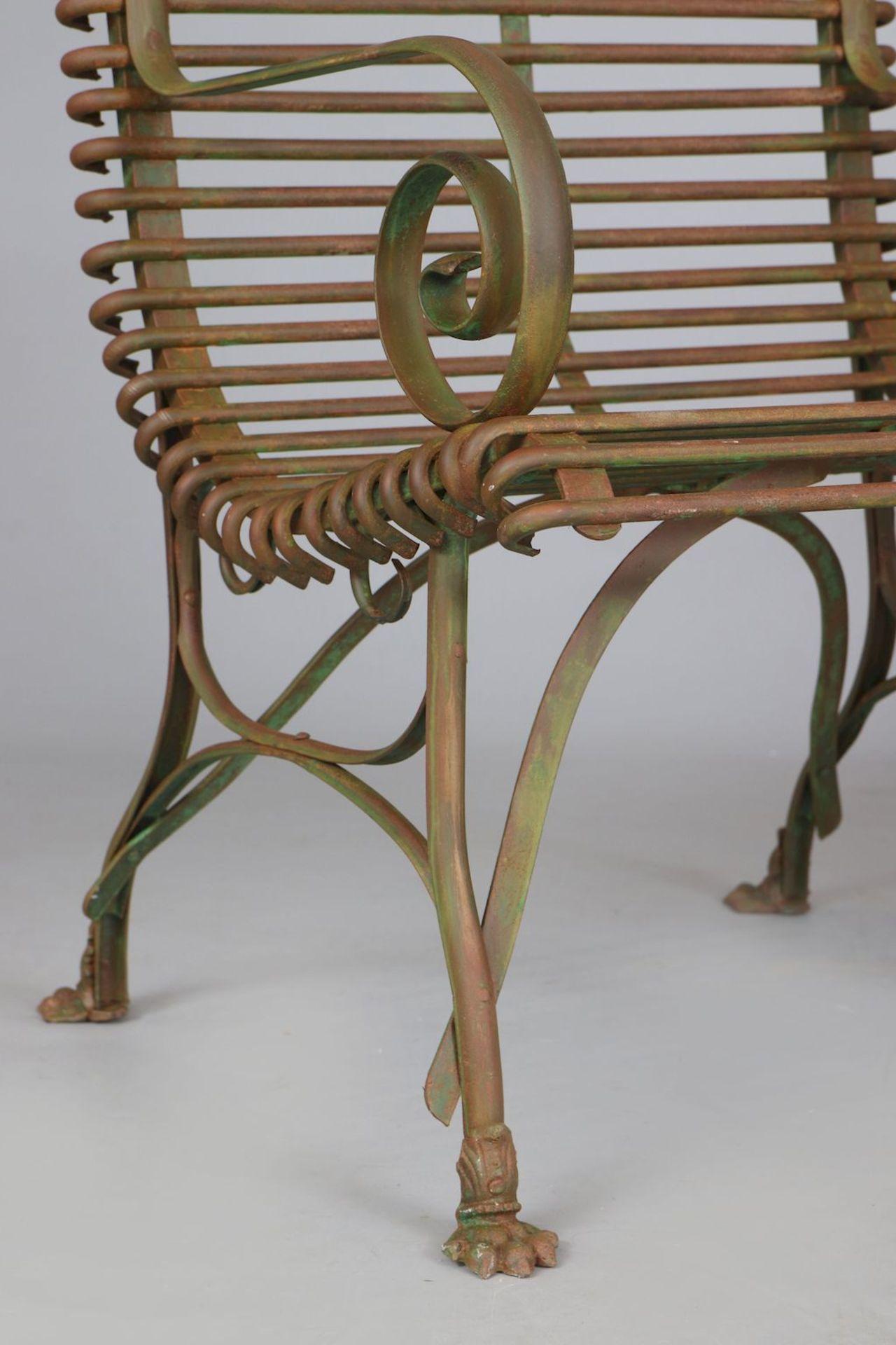 Paar Park-/Gartenstühle im Stile des 19. Jahrhunderts - Image 3 of 3
