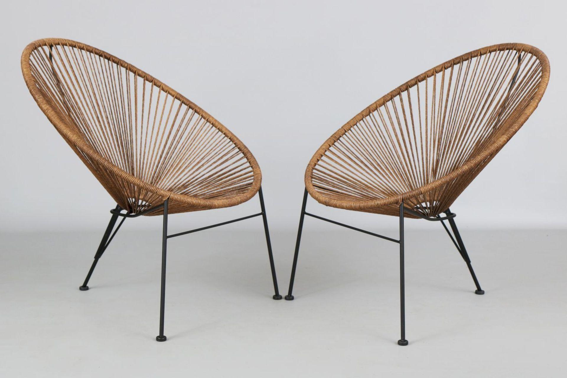 Paar ¨Acapulco¨ Chairs