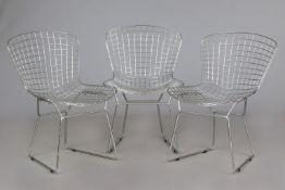 3 HARRY BARTOIA Stühle