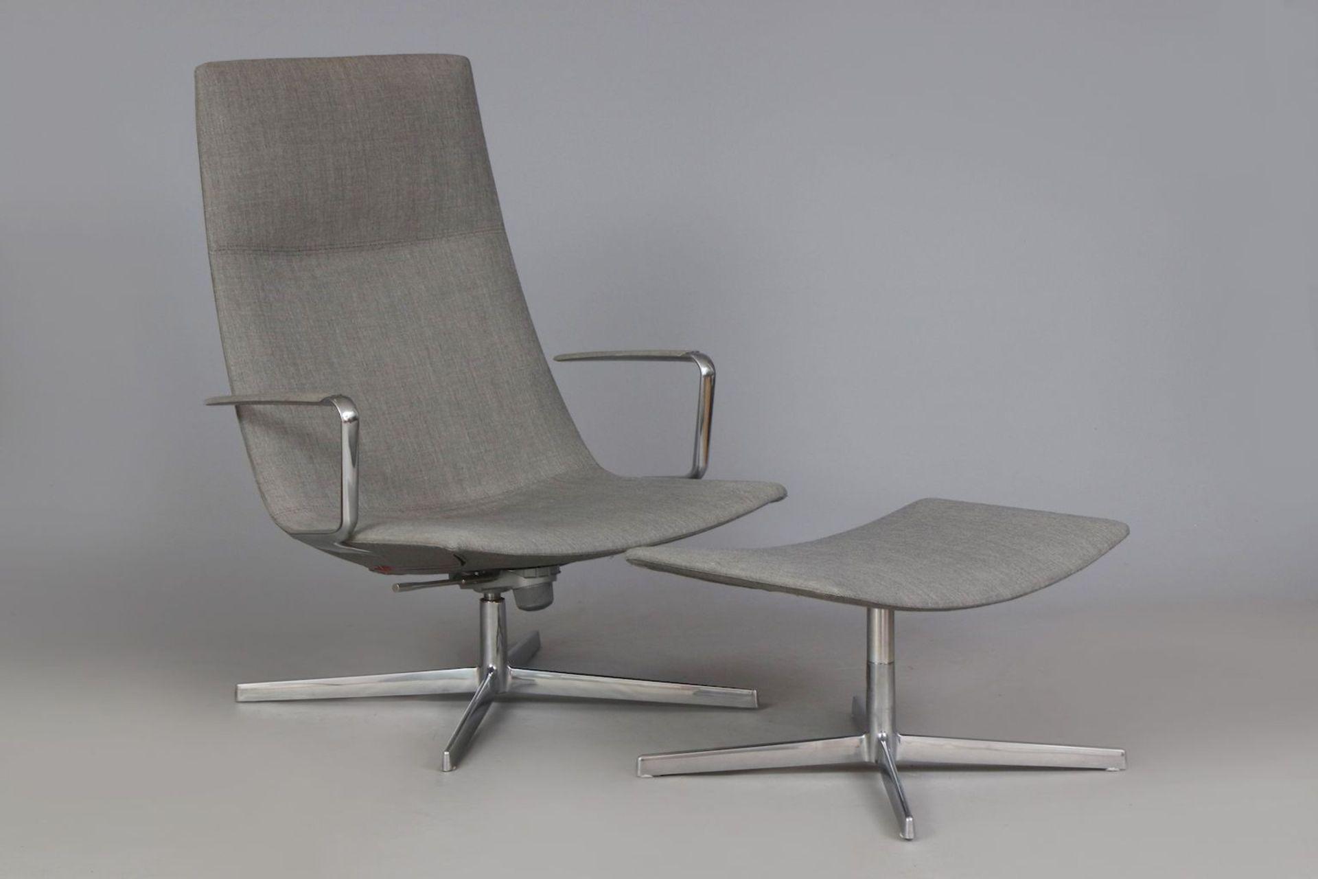 ARPER Italia ¨Catifa 70¨ Lounge chair mit Ottomane