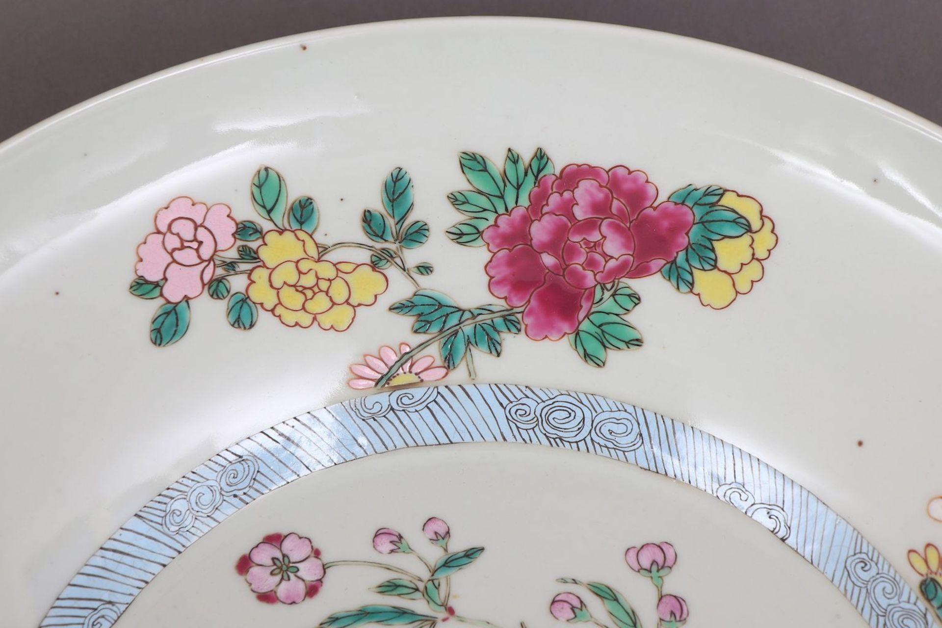 Chinesischer Porzellanteller - Image 3 of 4
