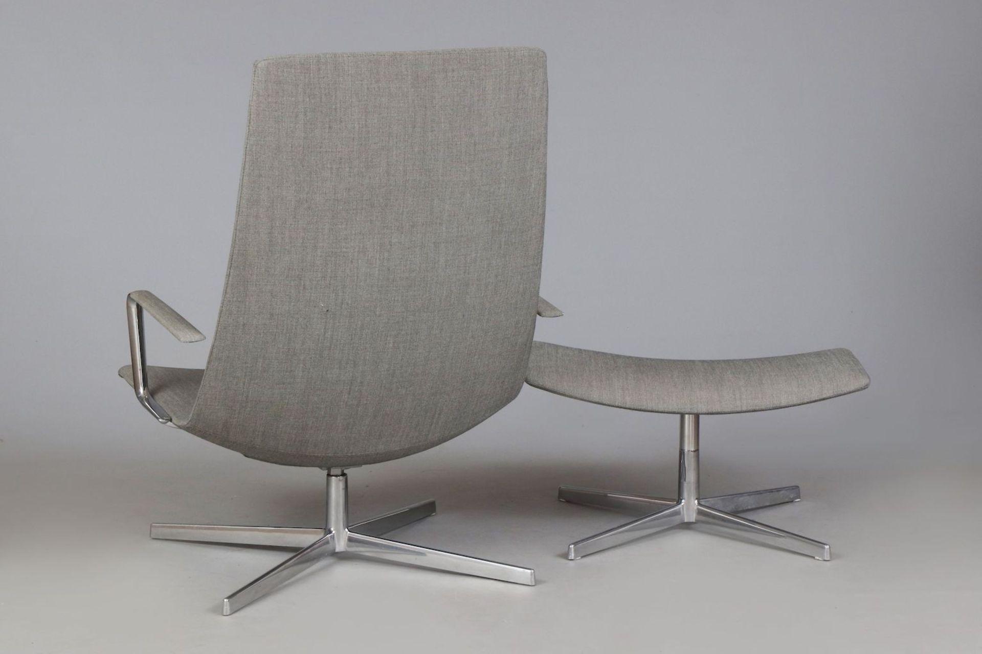 ARPER Italia ¨Catifa 70¨ Lounge chair mit Ottomane - Image 3 of 5
