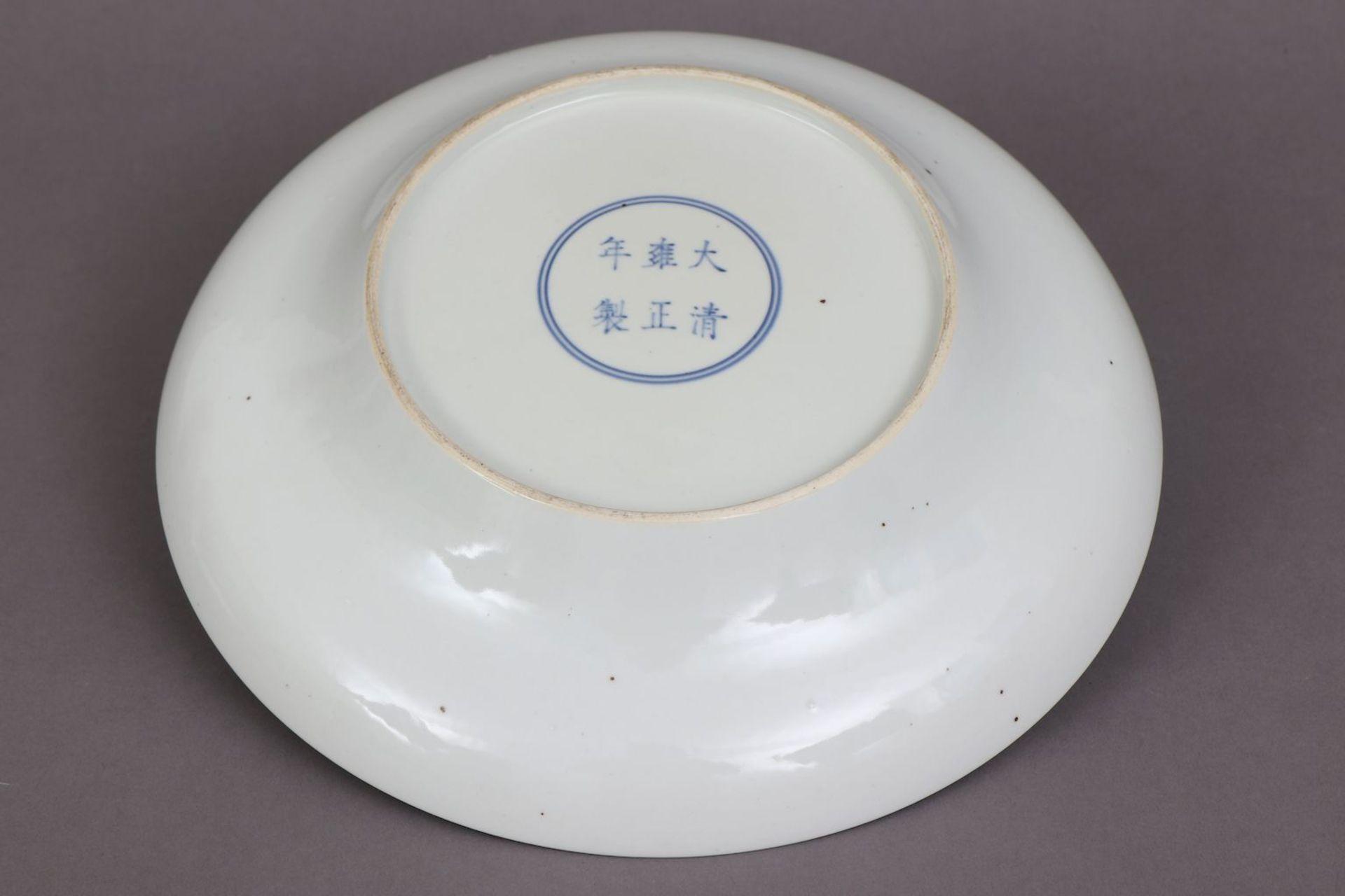 Chinesischer Porzellanteller - Image 4 of 4