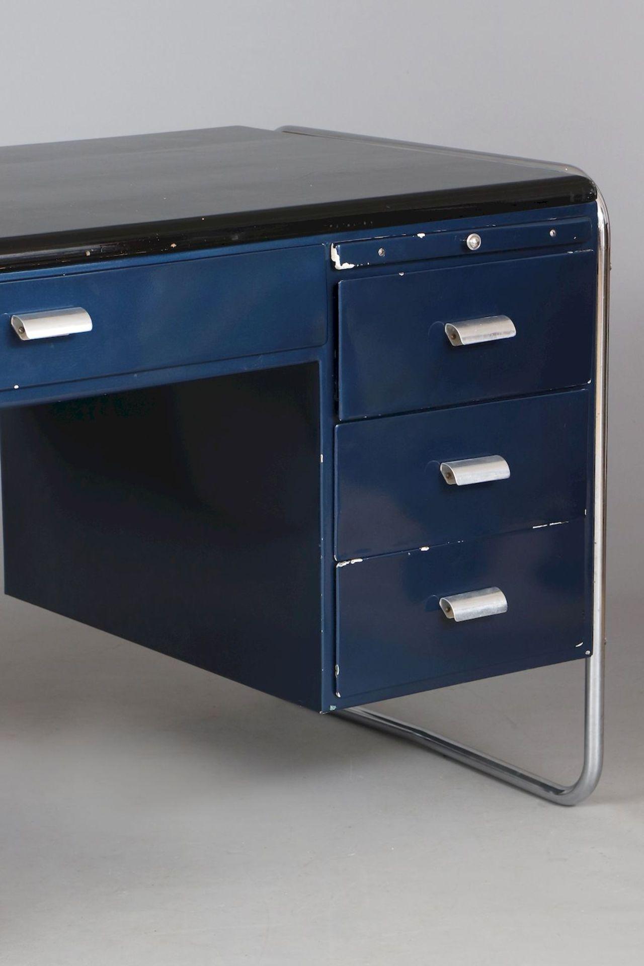 BAUHAUS Schreibtisch der 1930er Jahre - Image 3 of 4