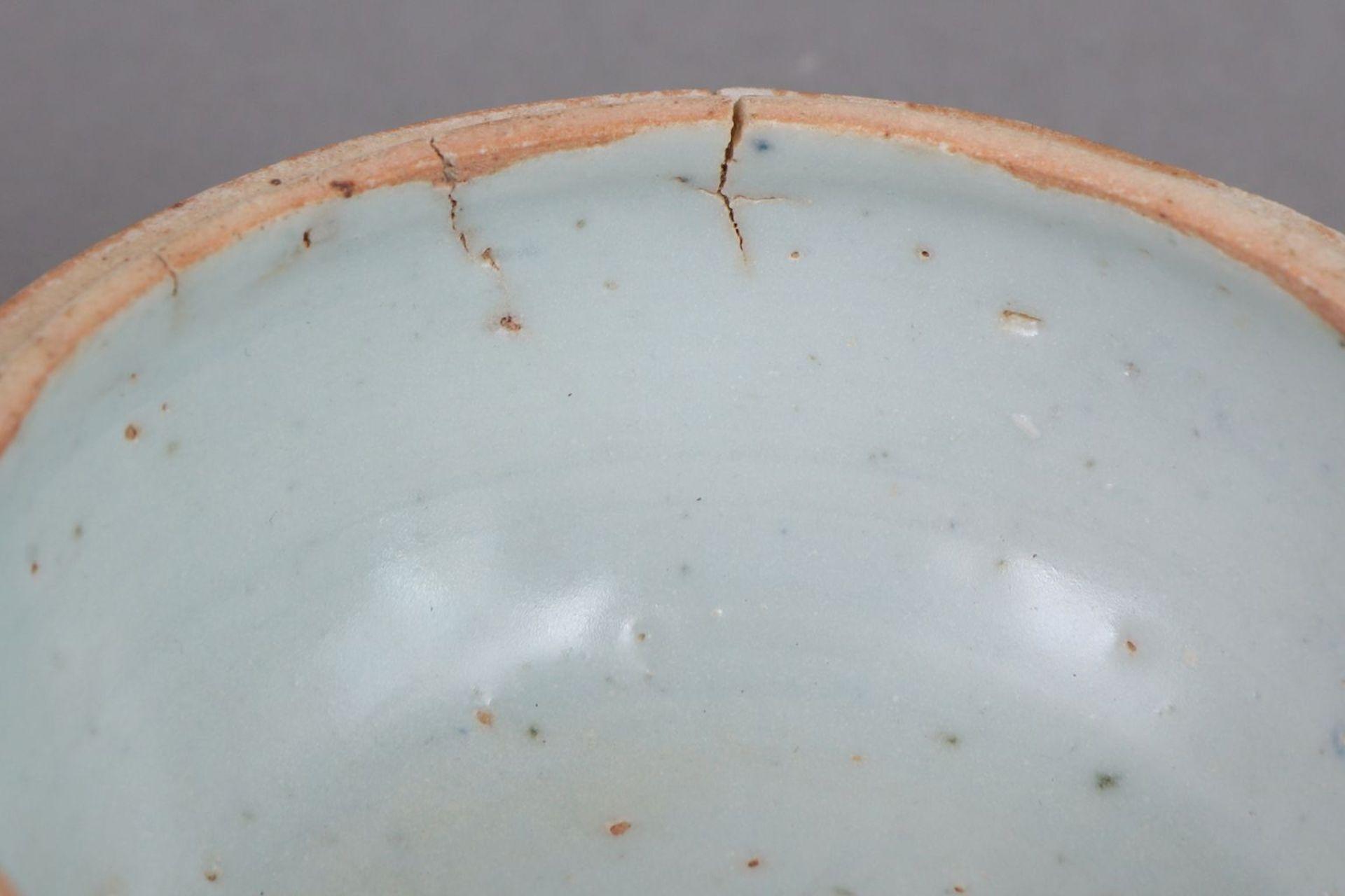 Chinesische Porzellan-Deckeldose - Image 4 of 4
