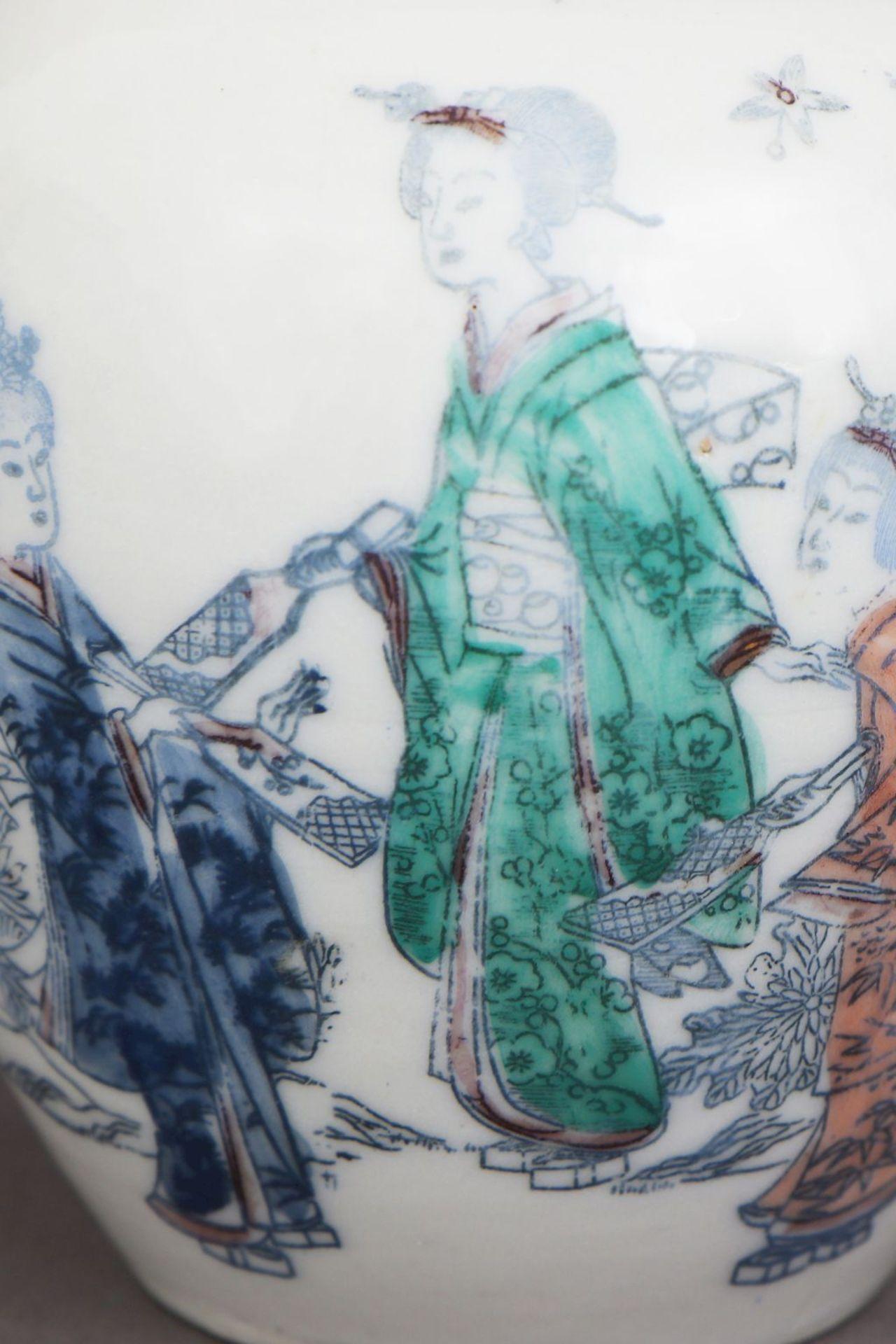 Chinesisches Deckelgefäß - Bild 4 aus 5