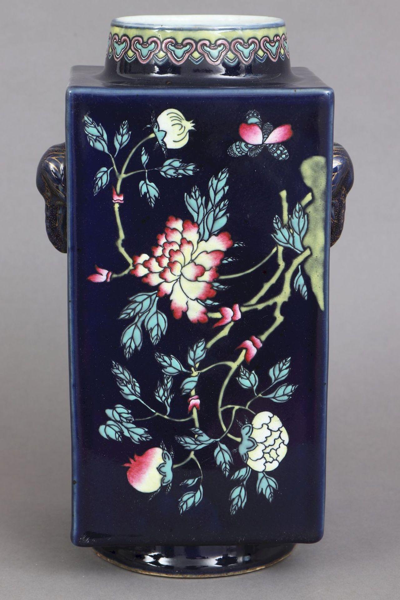 Chinesische Vierkantvase - Image 2 of 5