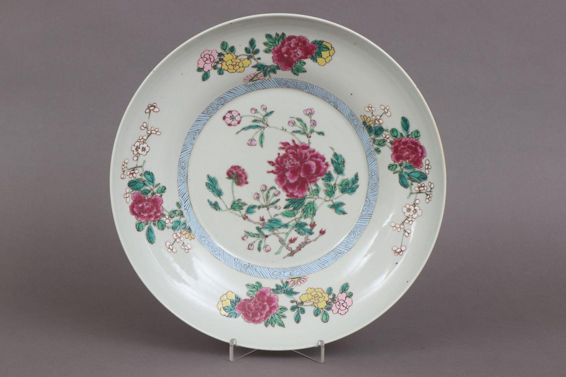 Chinesischer Porzellanteller - Image 2 of 4
