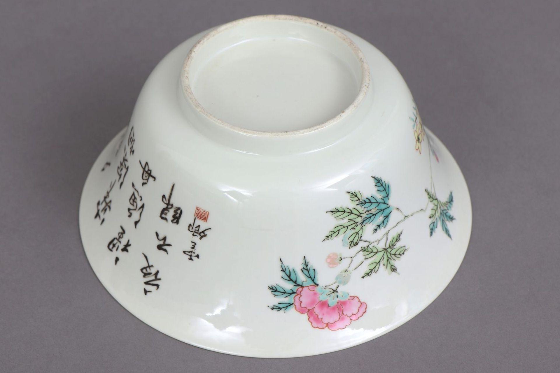 Chinesische Porzellanschale/Kuppa - Image 4 of 4