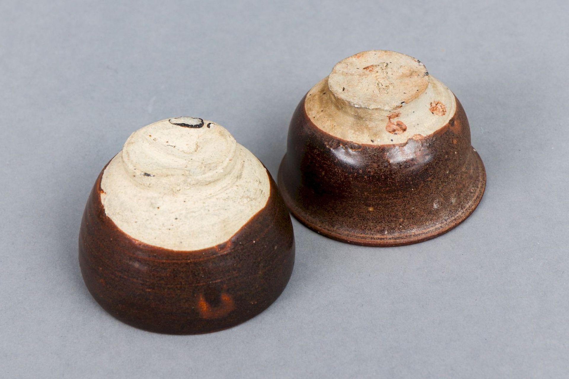 2 chinesische Koppchen/Weinbecher der Song Dynastie (960-1279) - Bild 2 aus 2