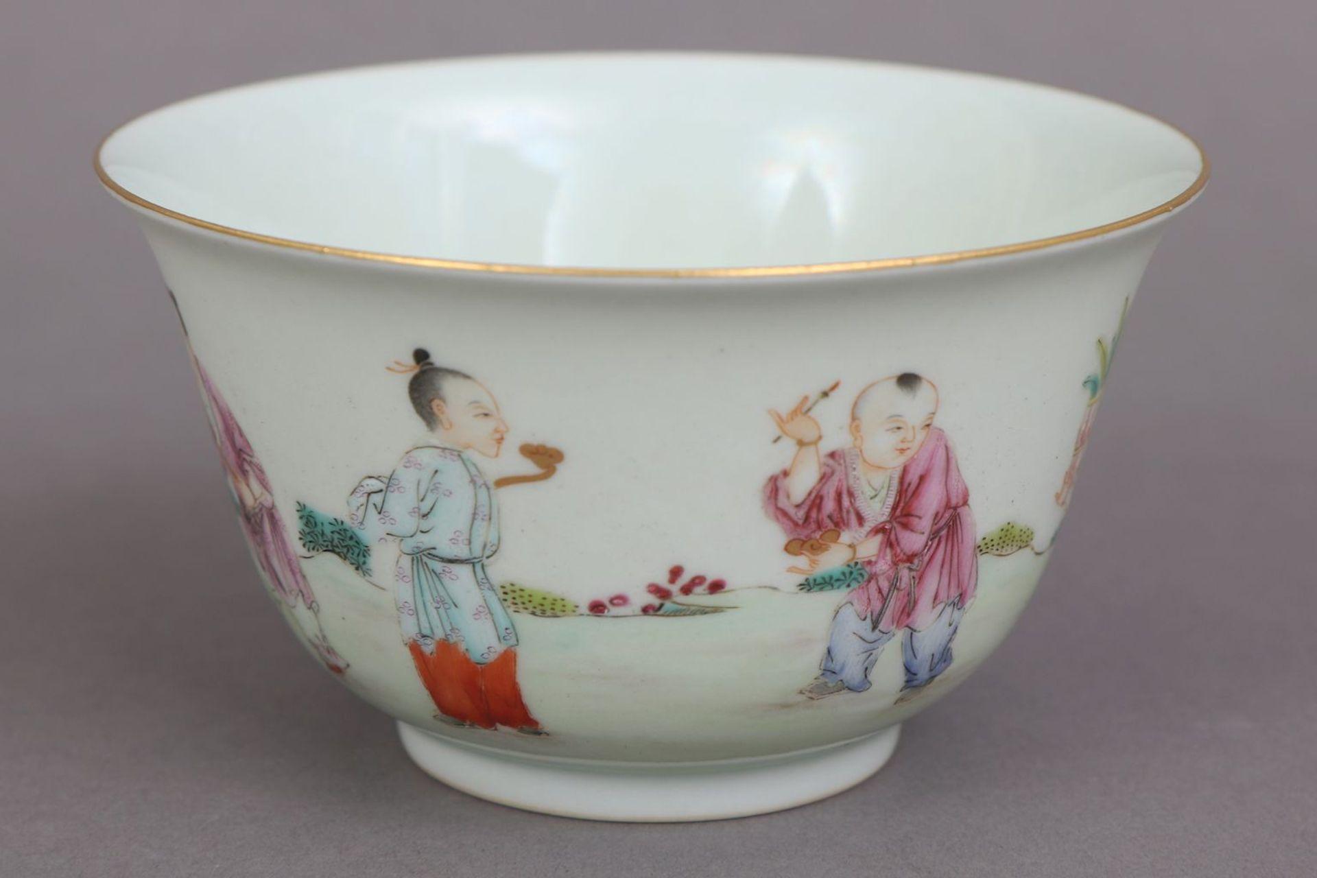 Chinesisches Porzellankoppchen des 20. Jahrhunderts - Bild 2 aus 4