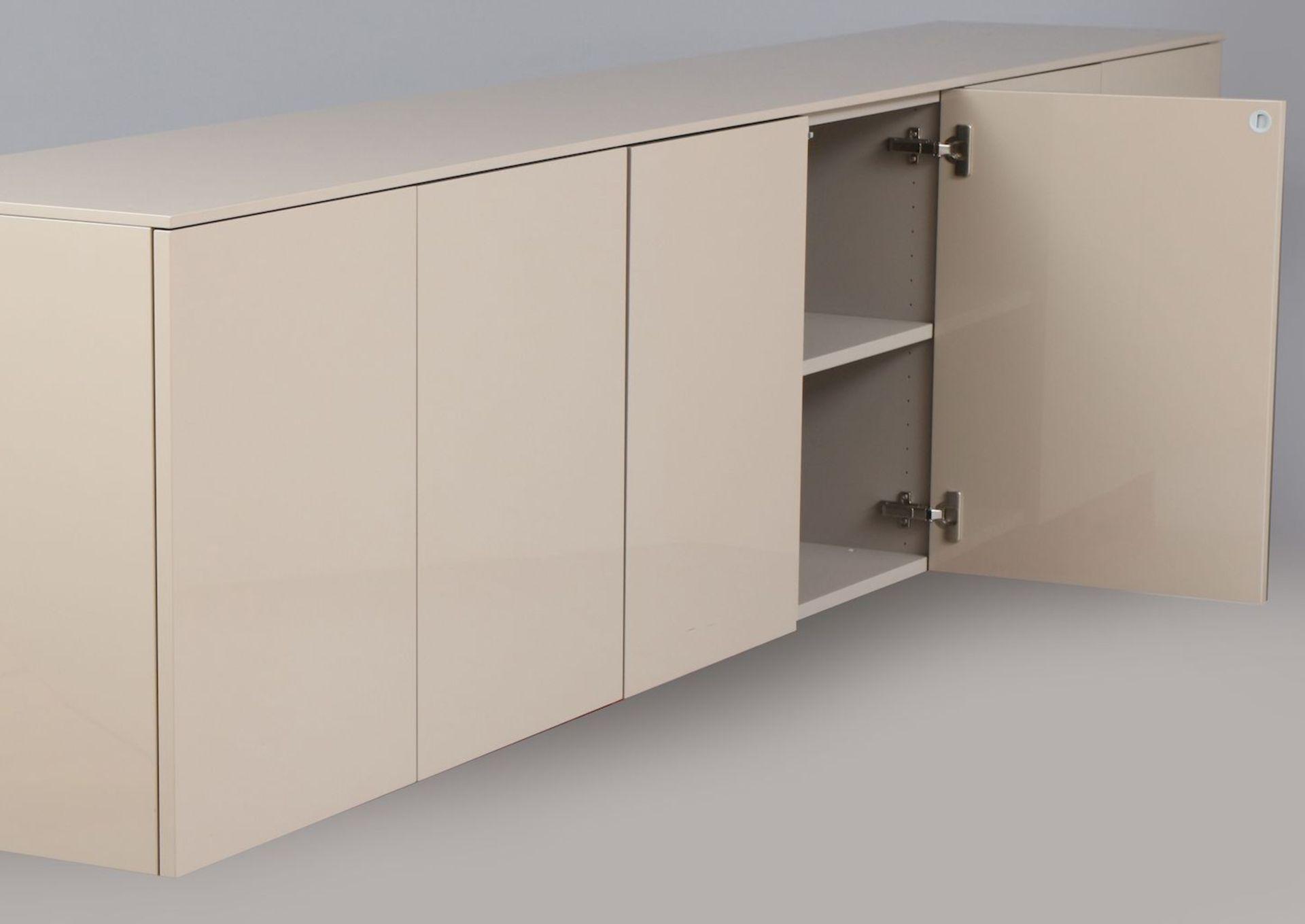 CAPELLINI Sideboard (schwebend, für die Wandmontur) - Image 2 of 4