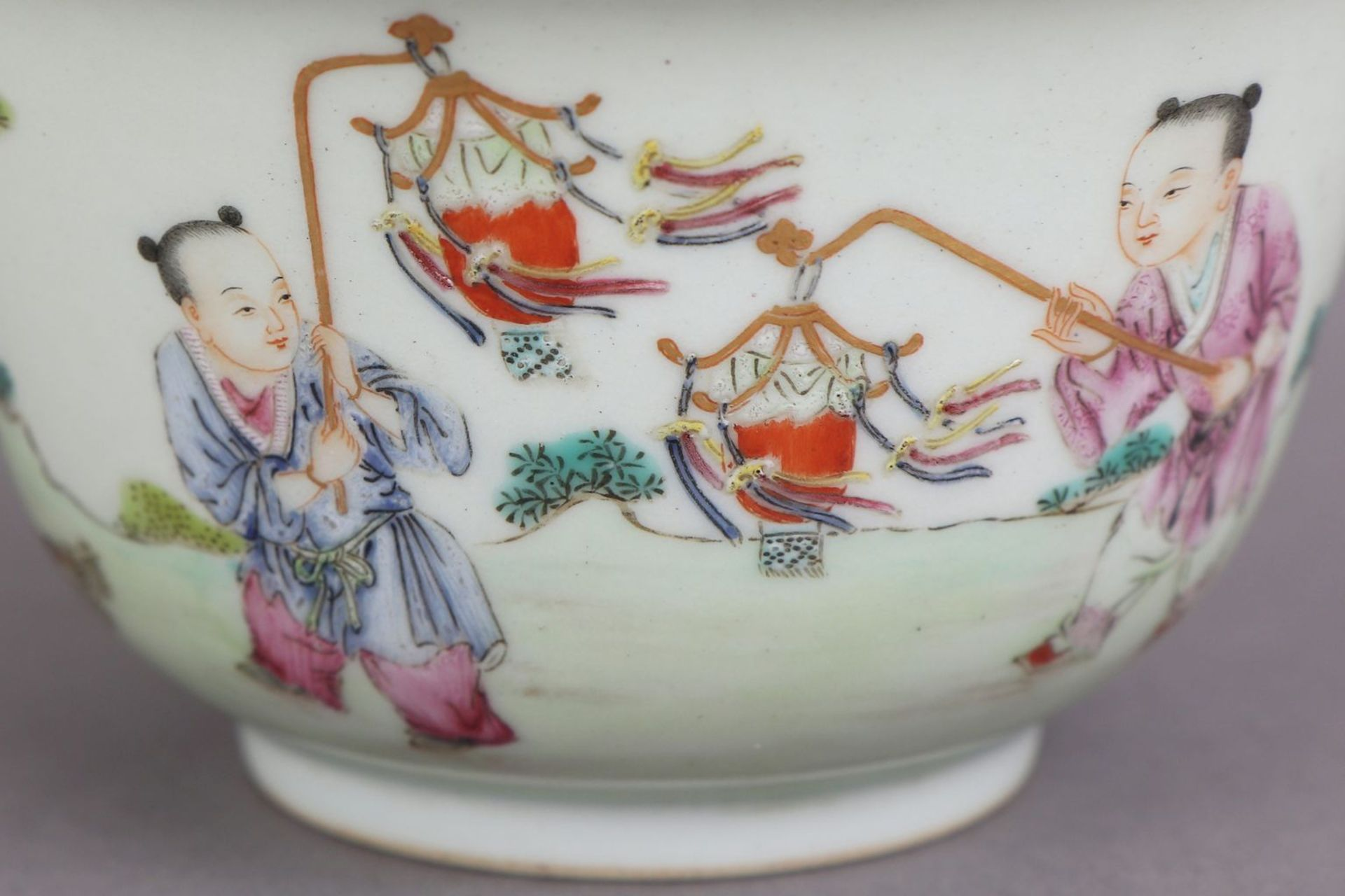 Chinesisches Porzellankoppchen des 20. Jahrhunderts - Bild 3 aus 4