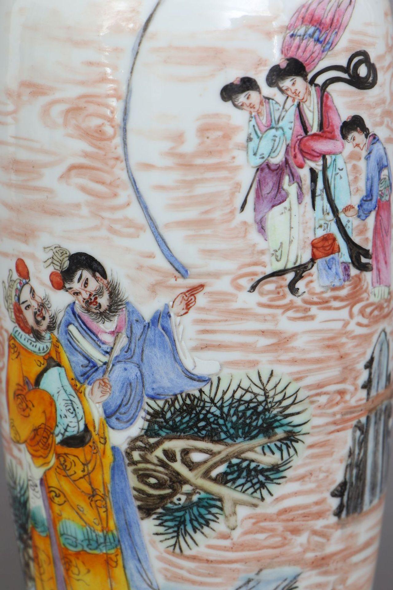 Chinesische Porzellanvase - Image 4 of 5