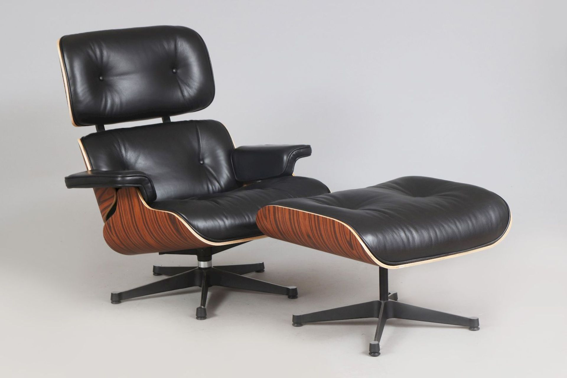 Lounge chair mit Ottomane