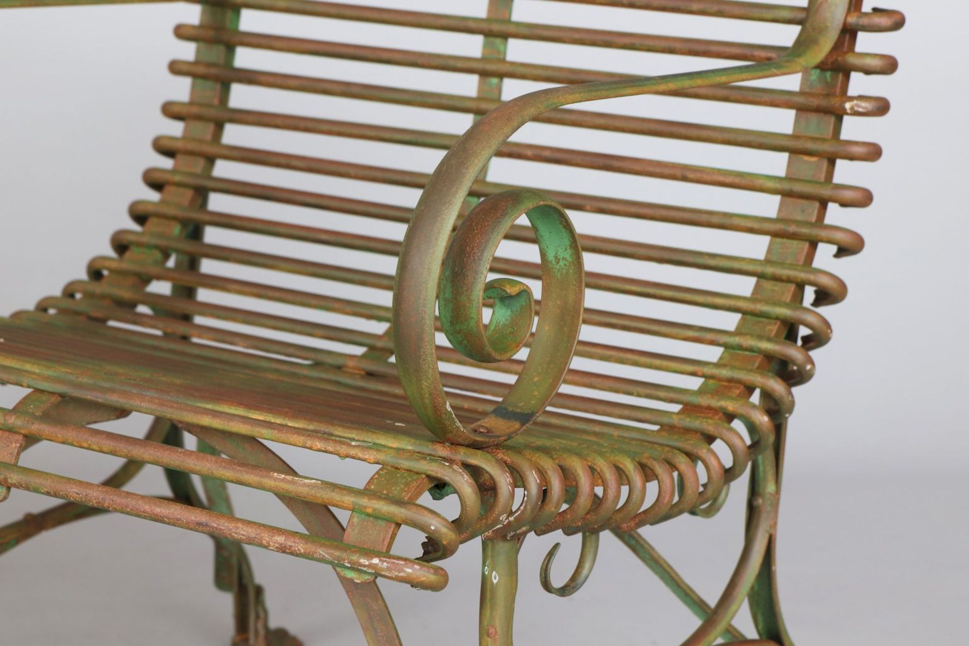 Paar Park-/Gartenstühle im Stile des 19. Jahrhunderts - Image 2 of 3
