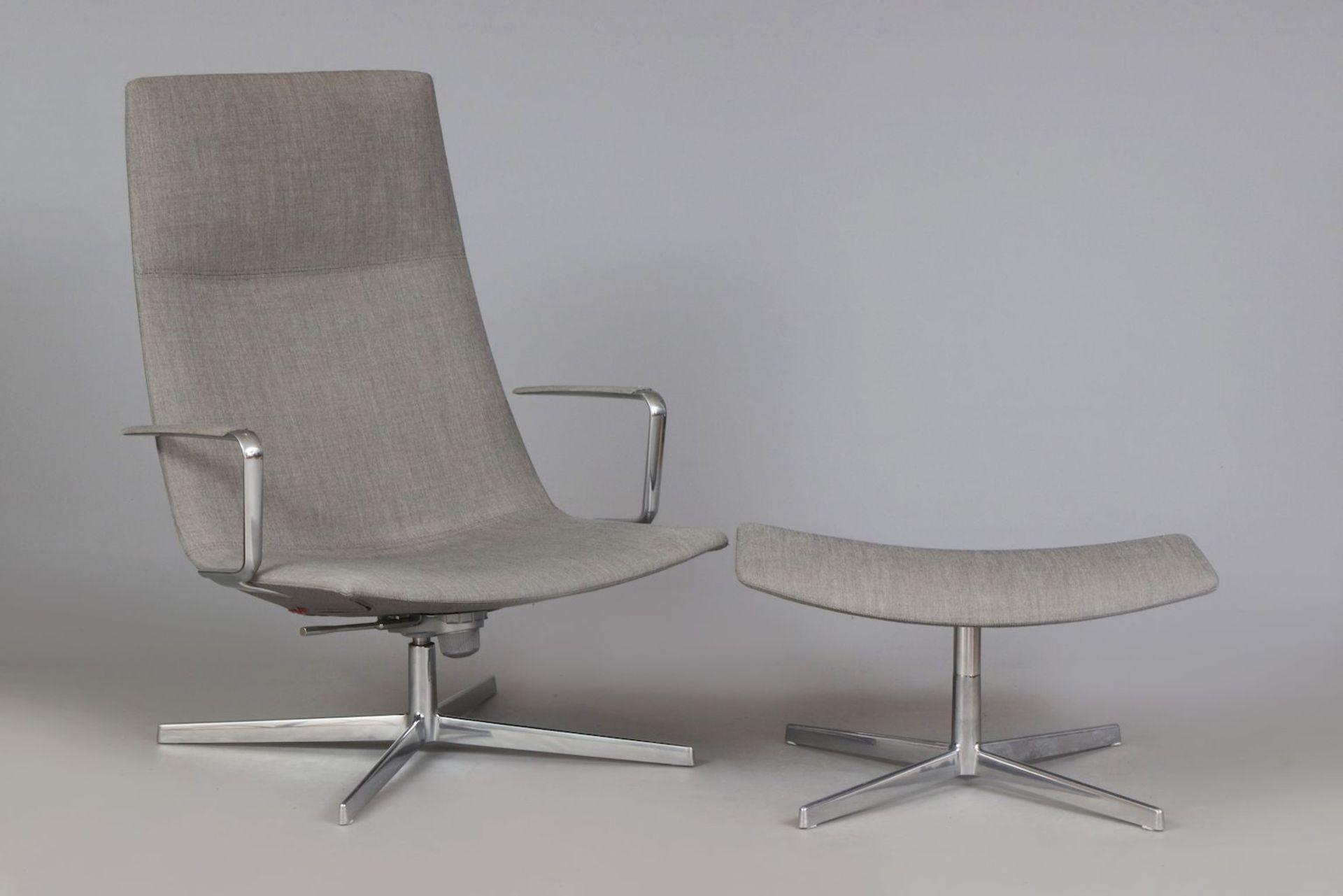 ARPER Italia ¨Catifa 70¨ Lounge chair mit Ottomane - Image 2 of 5