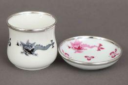 MEISSEN Porzellanvase und Schälchen