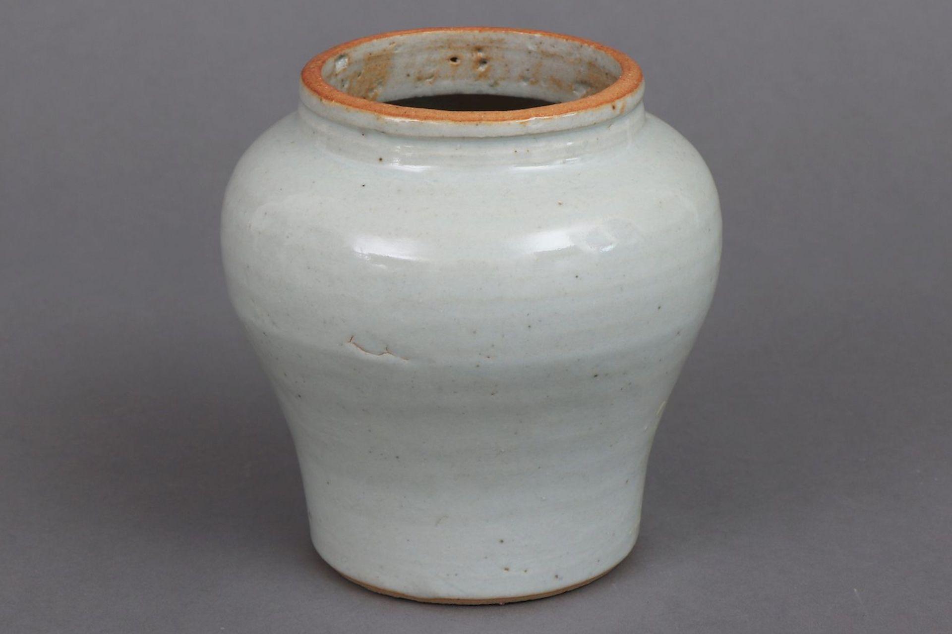Chinesisches Vasengefäß ¨White Song¨