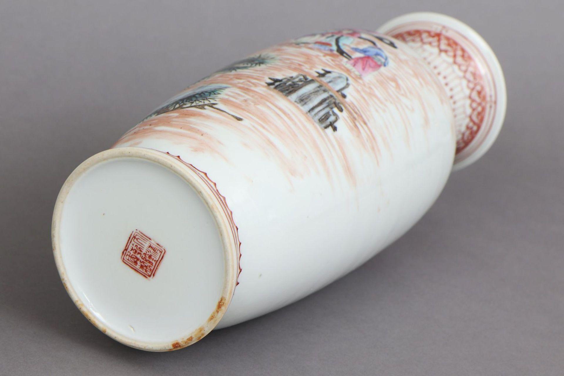 Chinesische Porzellanvase - Image 5 of 5