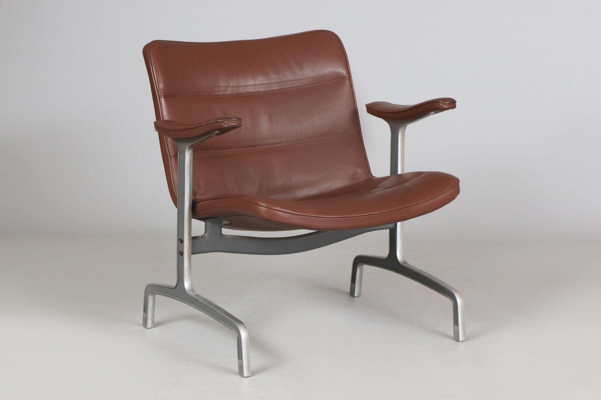 Besucher-Stuhl der 1970er Jahre
