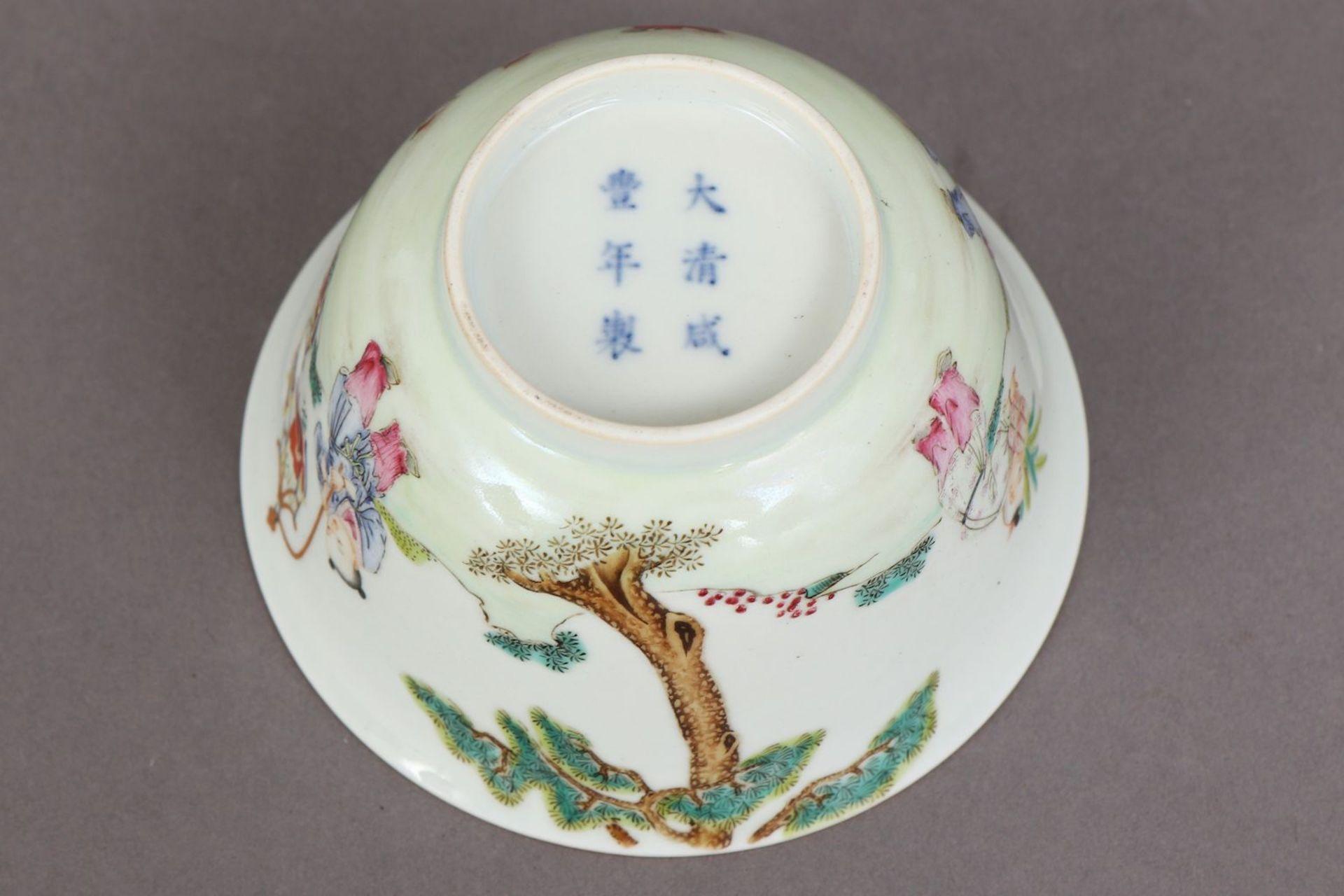 Chinesisches Porzellankoppchen des 20. Jahrhunderts - Bild 4 aus 4