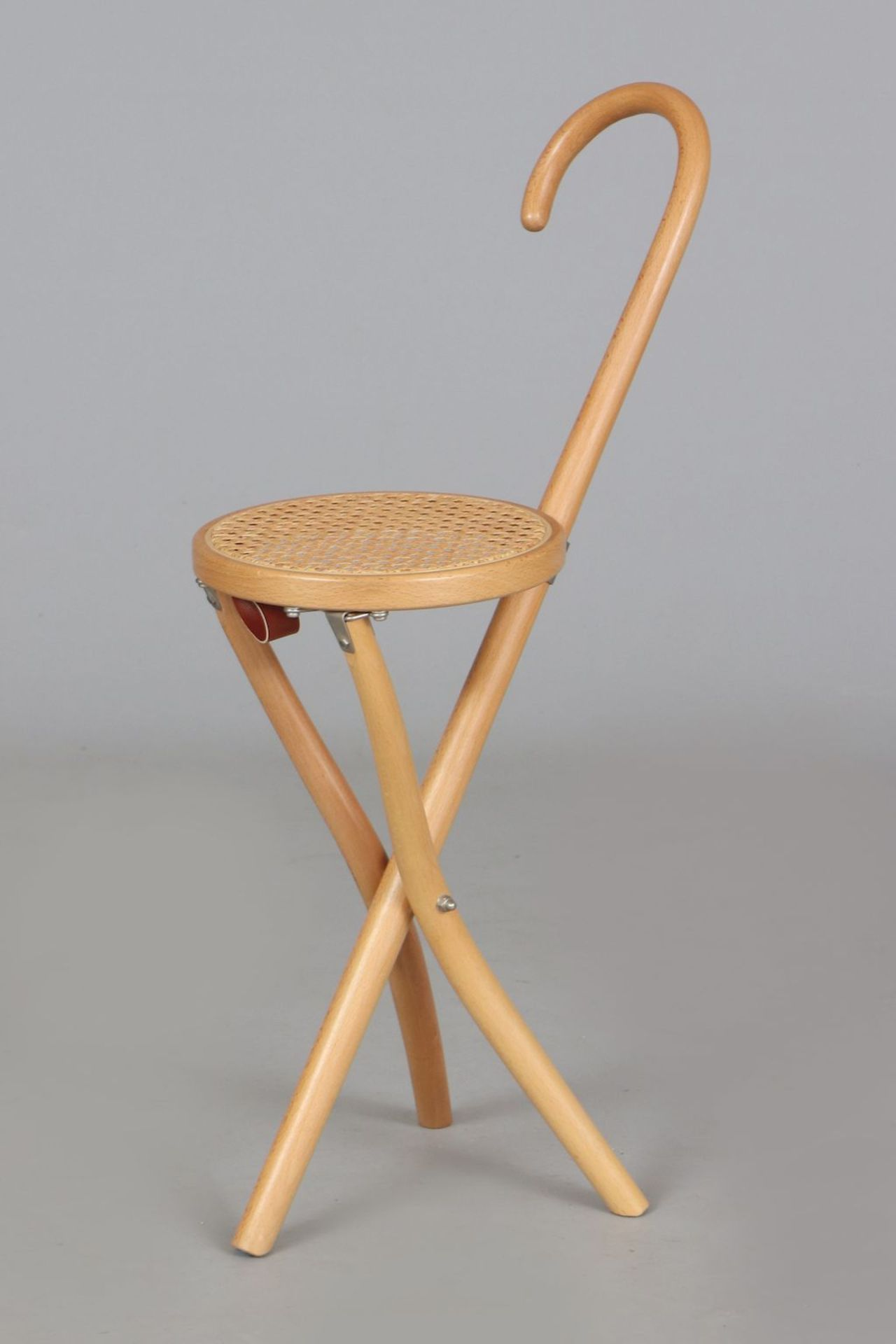 THONET ¨Jagd-Hocker¨ - Image 2 of 4