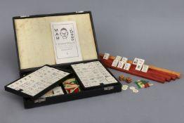 Mah-Jongg Spiel der 1940er Jahre