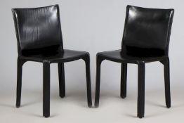 2 CASSINA 412 CAB Stühle