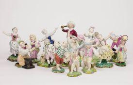 Konvolut Porzellanfiguren