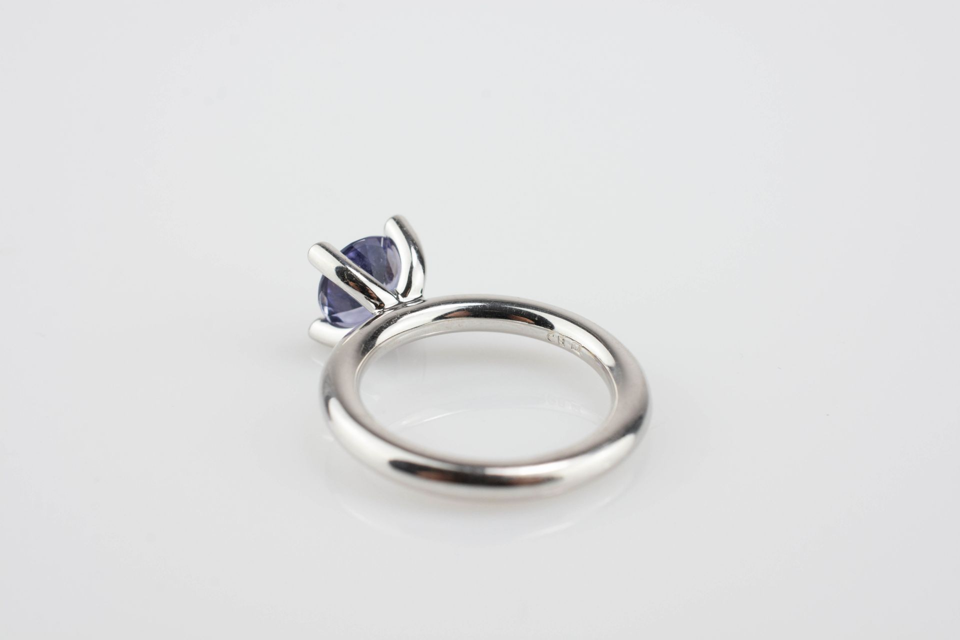 Solitair-Ring mit Iolith - Image 3 of 3