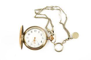 IWC Savonette mit Uhrenkette