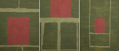 Triptychon 'Berlin Windows'
