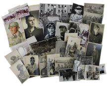 Konvolut von über 110 Fotos Deutsches Reich 1933 - 1945, meist Fotos von Militärs, verschiedenste