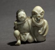 A mid 19th century Japanese netsuke from Edo period