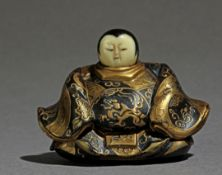 A 19th century Japanese netsuke from Meiji period