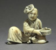 A mid 19th century Japanese netsuke from Meiji period.