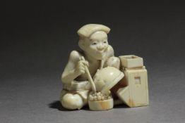 A mid 19th century Japanese netsuke