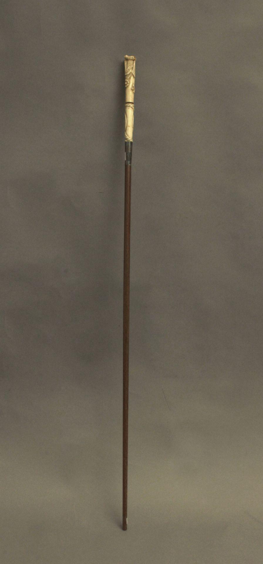 A 19th century walking stick - Bild 3 aus 7