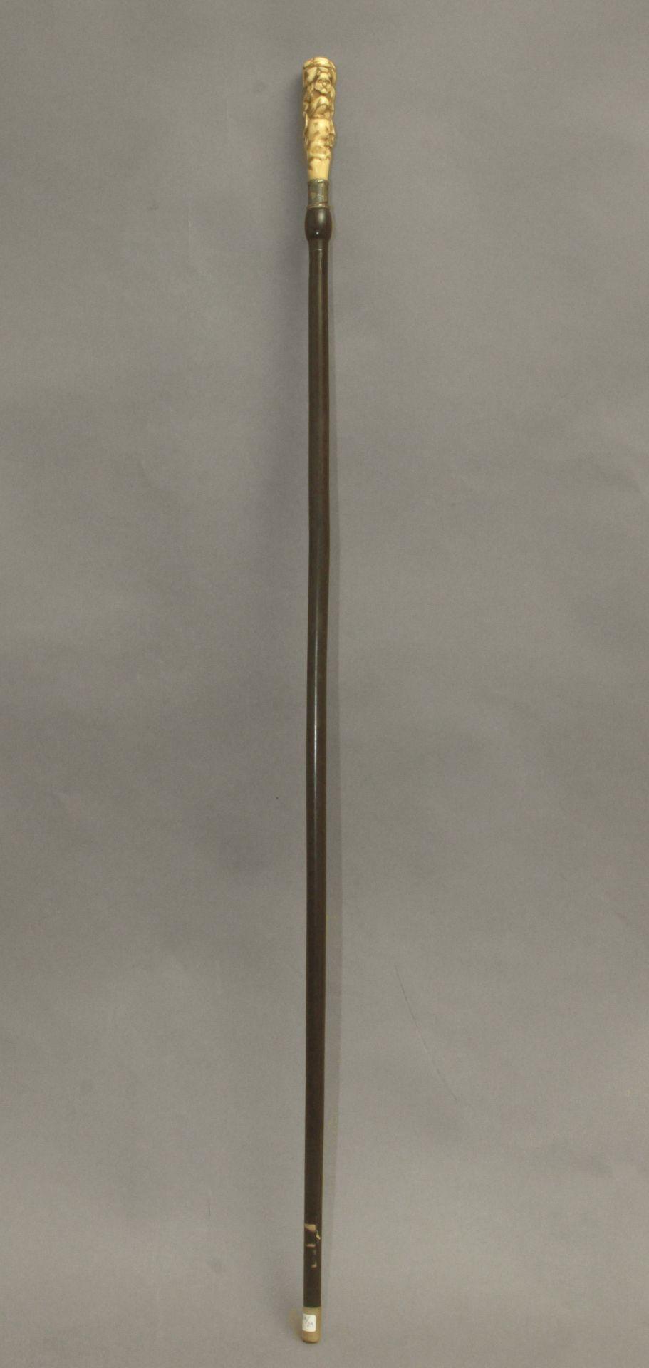 A 19th century Japanese walking stick - Bild 2 aus 6