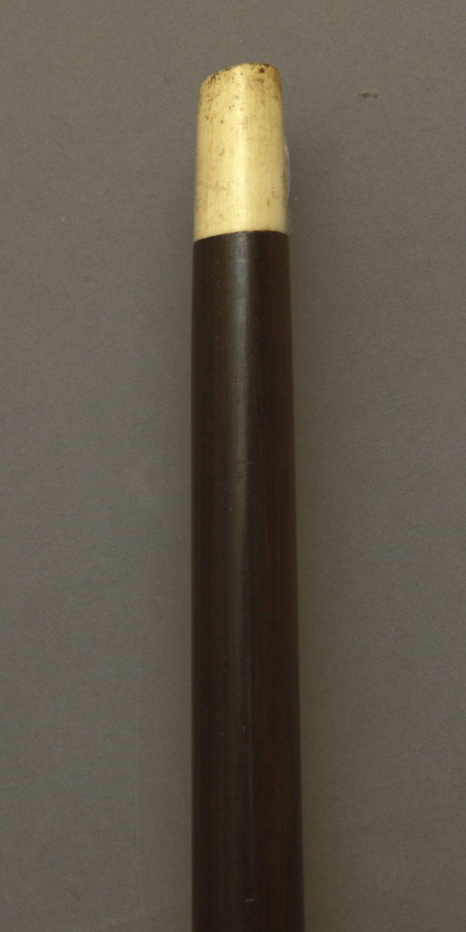 A curved walking stick circa 1900 - Bild 8 aus 8